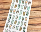 COFFEE! Life begins after coffee! But first coffee! PLANNER STICKERS! Perfect for coffee dates or just a little more color! {#170120}
