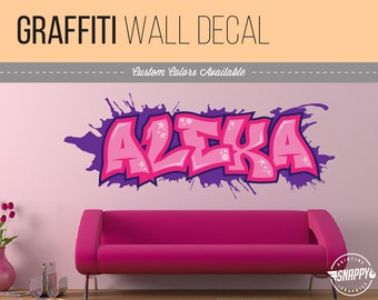 Wall Decals  Murals Etsy - Custom cut vinyl wall decals