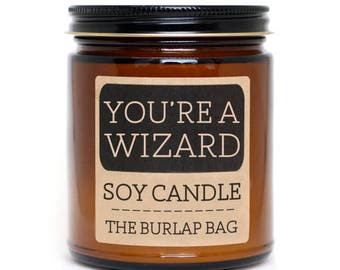 You're a Wizard 9oz Soy Candle