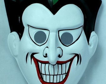 DC Comics The Joker Vintage Halloween Mask Batman Comic Book Rubies Y031