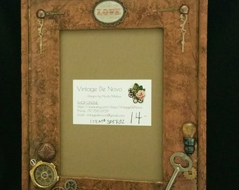 Steampunk Picture Frame - Item #SPFR02