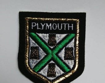 Vintage patch Plymouth