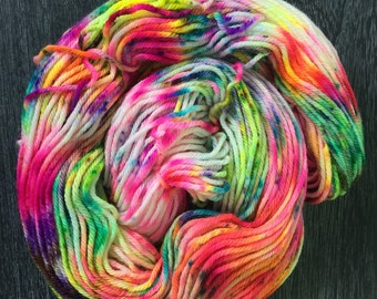 Hand Painted Superwash Merino Wool   'Eureka'