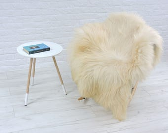 Genuine Icelandic sheepskin rug, single, 150cm x 90cm, G577