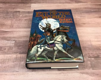 Eye Of The World - Robert Jordan - Wheel Of Time Series - TOR - 1990 - 8th Printing - Rare Book - Dust Jacket - Fantasy - Classic