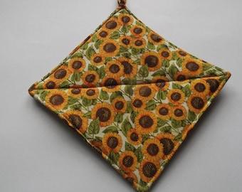 Pot Holders - Sunfloweres