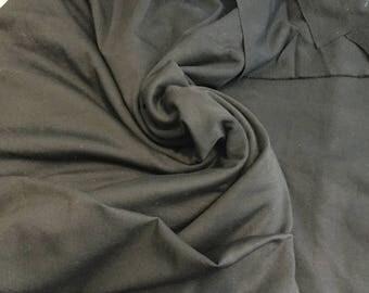 "Heavy Black Ponti knit, amazing weight, price is per yard, 62"" wide, beautiful weight"