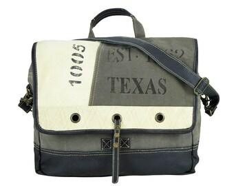 Sunsa woman Messenger bag cross body canvas bag Artno.: 51812