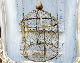 Chicken Wire Cage Potpourri Holder