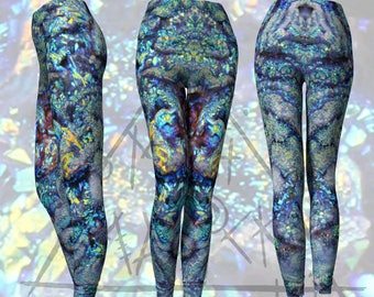 Aura Chalcedony Leggings [XS to XL] [Made-to-Order]