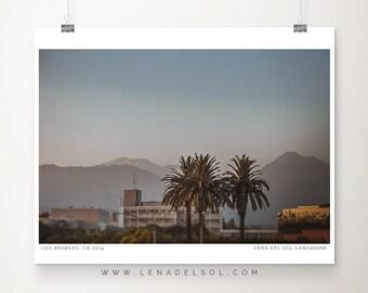 California print, Los Angeles, California decor, California photo, Los Angeles print, West coast art, gift idea, home decor, LA art