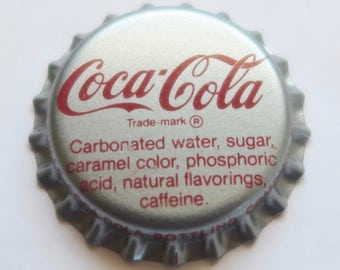 Coca Cola Bottle Top Button Cover