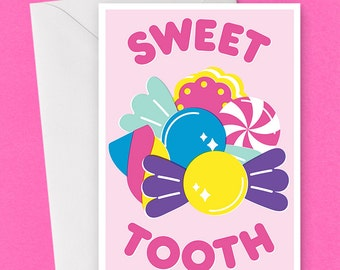 Sweet Tooth Card