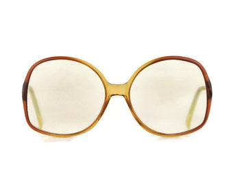 VIENNALINE* brown smoky Vintage Eyeglasses woman glasses Eyewear