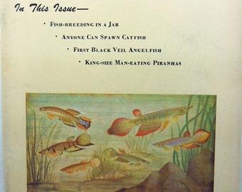 The Aquarium March, 1959 Rare Tropical Fish Magazine!