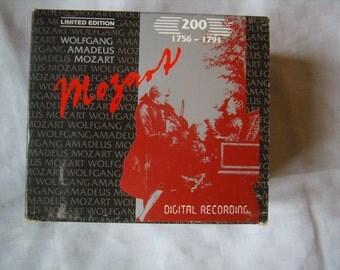 Vintage CD, MOZART, box 10 CD, Limited Edition of 1990 Original