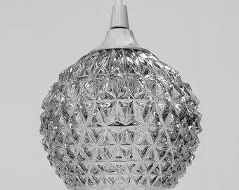 Small Pendant lighting  ball  Clear glass pine apple 70 / high quality glass / chandelier suspension lampshade / 3 available / Holy10  paris