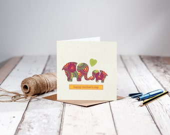 Original Elephant Mother's Day Card