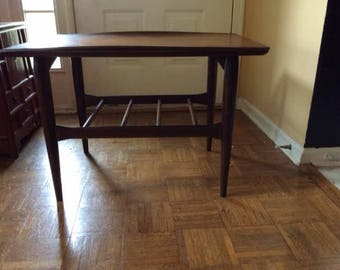 Danish Modern Mid Century End Table
