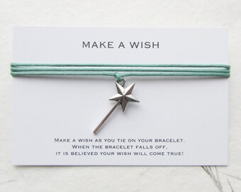Wish bracelet, friendship bracelet, make a wish bracelet, W51