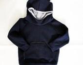 Osito. Sueter sudadera para niños con capucha y orejas de osito. Forro bicicletas fondo gris. Baby hoodie sweatshirt. 0 meses a 6 años