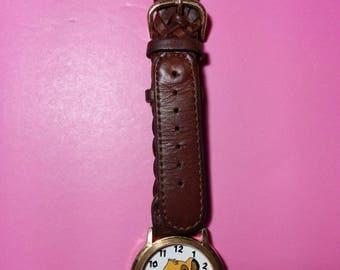 Vintage Timex Lion King Simba Watch * Not Working - For Parts or Repair * Disney * Vintage Disney * Broken Watch Parts