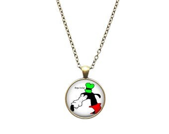 Gooby pendant Dolan jewelry Meme necklace