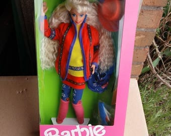 Mattel United Colors of Benetton Barbie Doll 1990