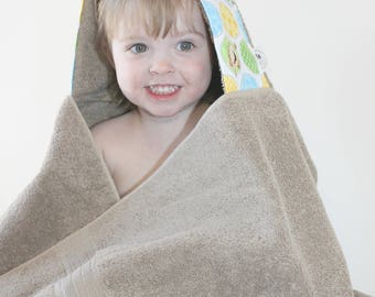 New Baby Gift - Baby Gift for Boy - Baby Towel - Baby Shower Present - Hooded Towel for Baby - Towel Hoodie - Boys Towel Hoodie - Boys Towel