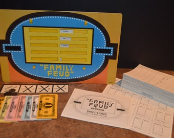 Vintage 1978 Milton Bradley Family Feud Game 2nd Edition #4723