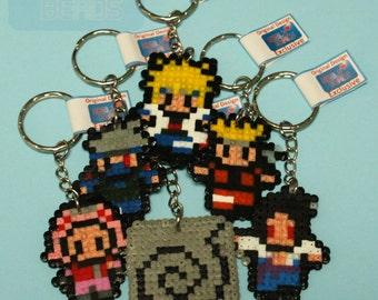 Your choice of Naruto, hamabead, keyrings, original designs