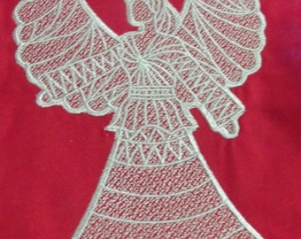 Free standing lace angel