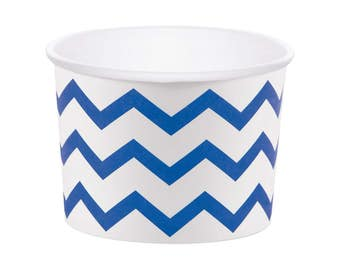 Royal Blue Treat Cups - Party Cups - Treat Cups - Baby Shower - Candy Cups - Ice Cream Cup - Food Cups - Snack Cups - Navy Treat Cups