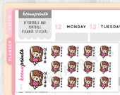 A814 | YEAH stickers Keenachi Perfect for Erin Condren Life Planner, Filofax, Plum Paper & other planner or scrapbooking