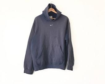 WORN NIKE HOODIE // 90s // X-Large // Nike Hoodie // Sweatshirt // Vintage Nike // Nike Hoodie // Nike Hoodie // Nike Hoodie // Faded