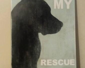 I <3 my Rescue Dog