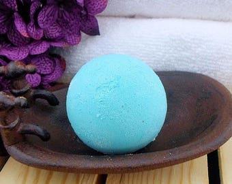 Teal Bath Bomb - Cucumber Melon Bath Bomb - Colorful Bath Bomb - Aqua Bath Bomb - Fun Bath Bomb - Bathbomb - Bath Fizzie - Bath Fizzy