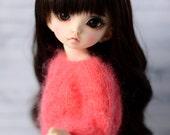 openwork sweater for littlefee yosd bjd dolls mohair  tunic