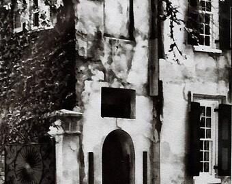 Charleston * photography * architecture * black and white * South Carolina