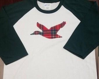Kids duck applique t-shirt