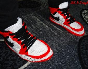 Zapatillas Crochet Hombre Hombre Zapatillas Crochet Zapatillas f6v7ybYg