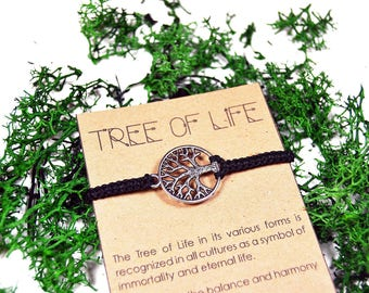 Tree Of Life Bracelet Etsy