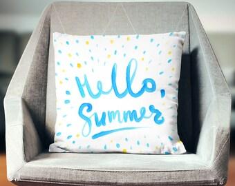 Summer Pillow | Summer Pillow Case | Summer Throw Pillow | Summer Pillow Cover | Summer Cushion | Summer Decoration | Summer Décor