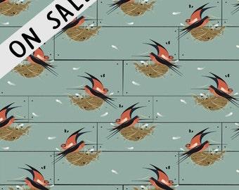ON SALE  Barn Swallow By Birch Fabrics
