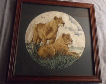Lioness Cross Stitch