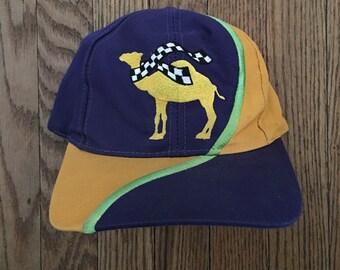 Vintage Joe Camel Cigarettes Tobacco Snapback Hat Baseball Cap