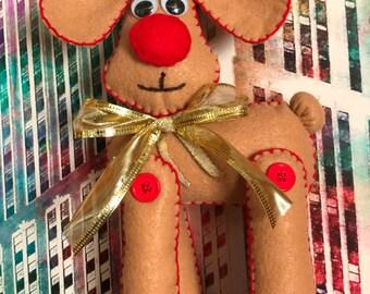 Christmas  Reindeer Felt