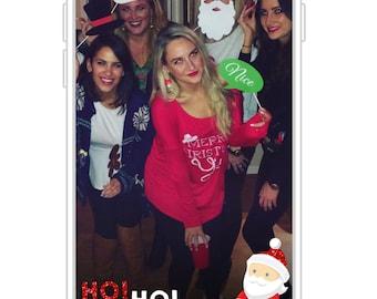 Ho! Ho! Ho! Santa Snapchat Filter | Christmas Party Snapchat GeoFilter | Holiday Party Snapchat GeoFilter