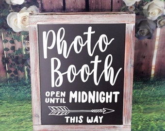 Photo Booth Decal Sign, Chalkboard Decals, Photo Booth Sign, Photo Booth, Wedding Photo Booth, Photobooth Sign, Wedding Sign, Rustic, Boho