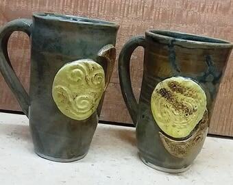 Sun moon and stars mugs